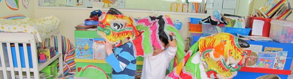 Kindergarten Lion Dance