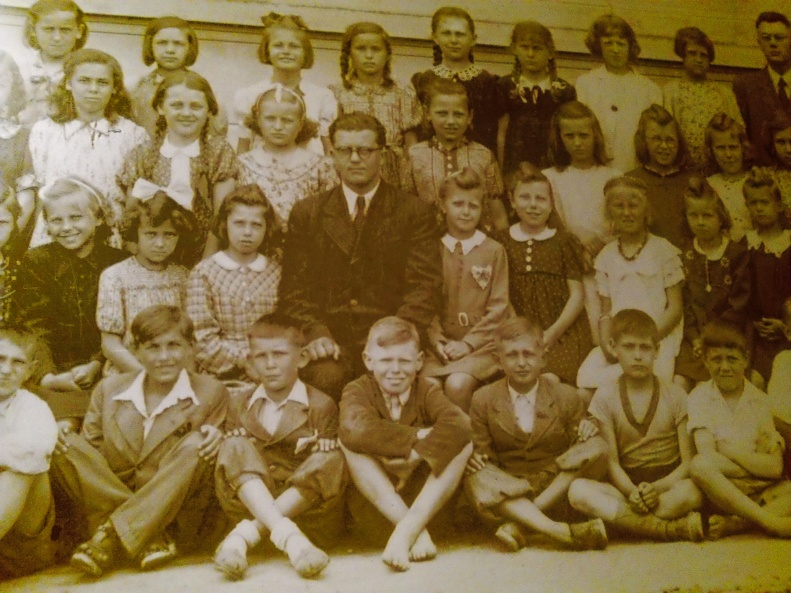 School Photograph, early 1942, Lidice