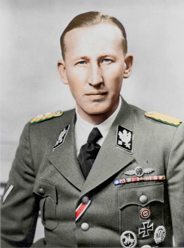 SS Obergruppenführer Reinhard Heydrich