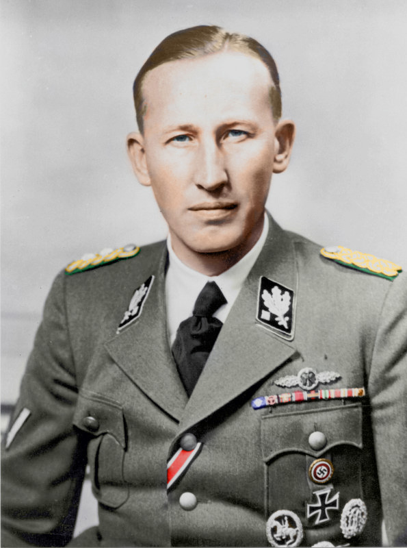 Reinhard Heydrich, Himmler's number 2 in the SS
