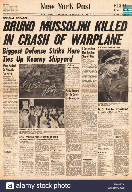 SSS_1941-front-page-new-york-post-bruno-mussolini-killed-in-plane-crash-FWNEYY