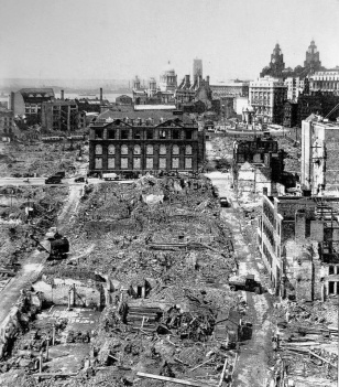wCity Centre Blitz damage May 1941